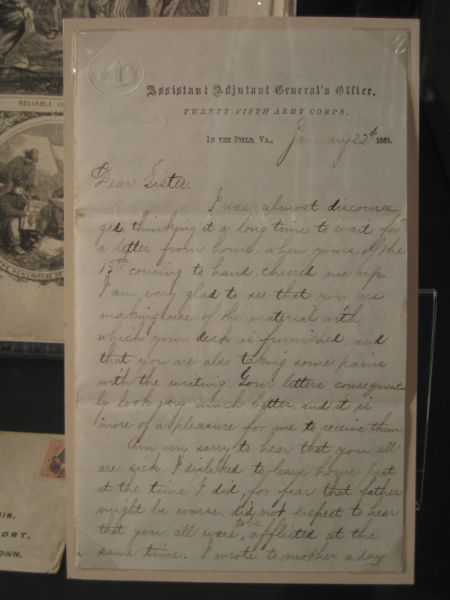 Letter from in the Field